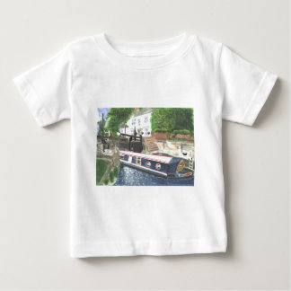 Beeston Canal Lock House Nottingham Baby T-Shirt