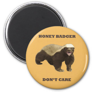 Beeswax Color Honey Badger Dont Care Magnets