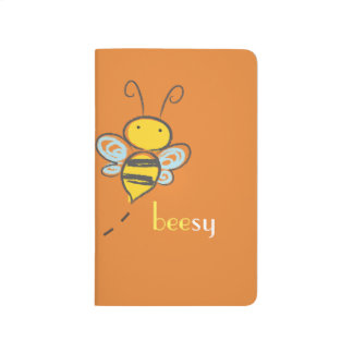 """Beesy"" Pocket Journal"