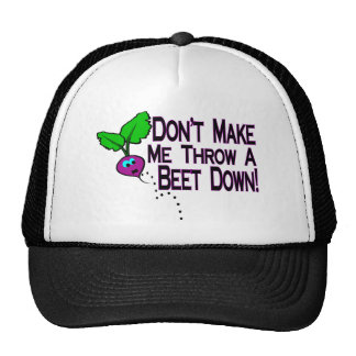 Beet Down Trucker Hat