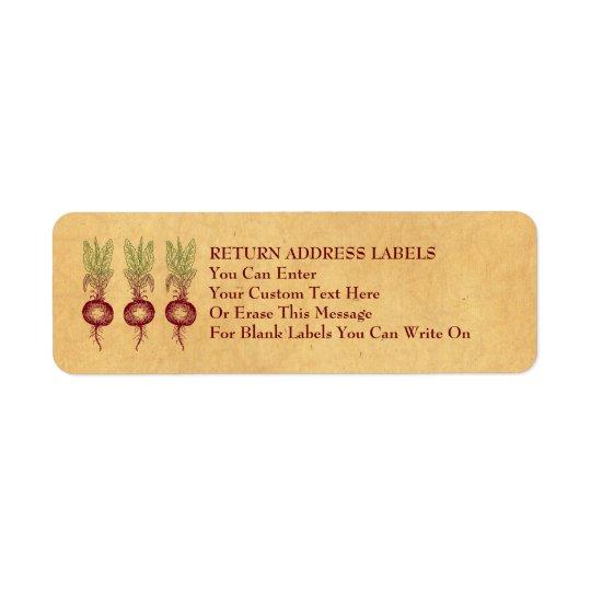 Beet Labels