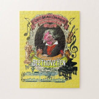 Beethovehen Great Animal Composer Beethoven Parody Puzzle