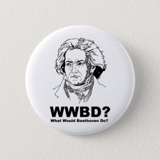 Beethoven 2 Inch Round Button