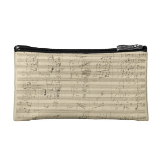 Beethoven 9th Symphony, Music Manuscript Makeup Bag
