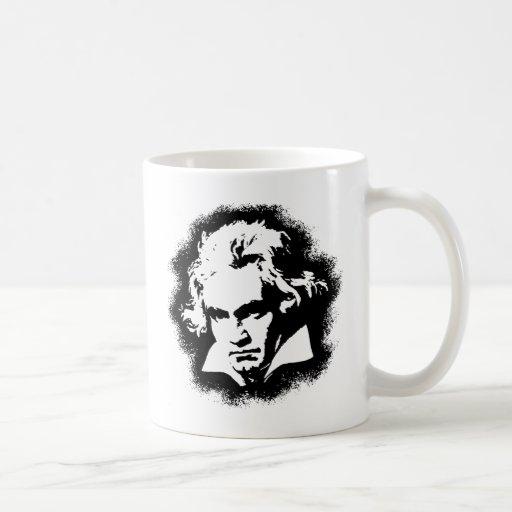 Beethoven Classic White Coffee Mug