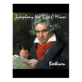 Beethoven Classical Masterpiece Collection Postcard