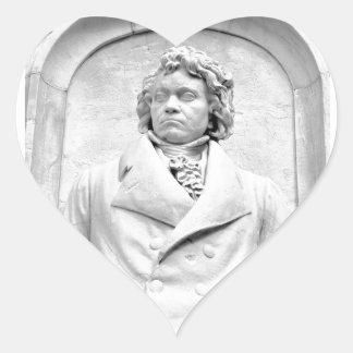 Beethoven Heart Sticker