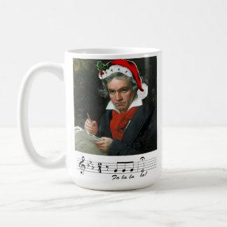 Beethoven Holiday Mug