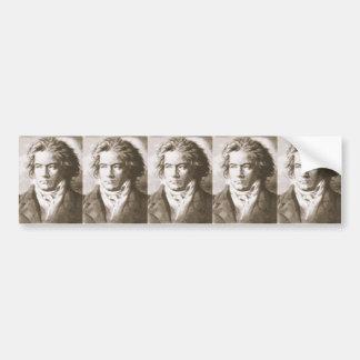 Beethoven In Sepia Bumper Sticker
