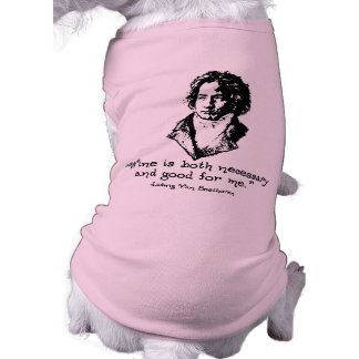 Beethoven -L Dog Tee Shirt