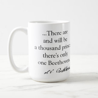 beethoven' mug