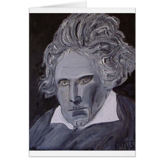 Beethoven note card