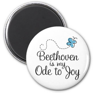Beethoven Ode To Joy Music Gift 2 Inch Round Magnet