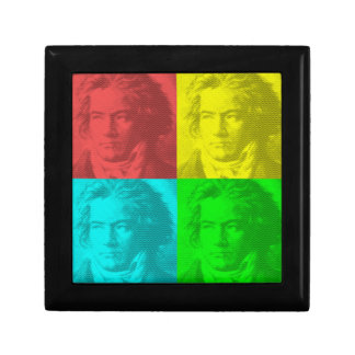 Beethoven Portrait In Squares Gift Box
