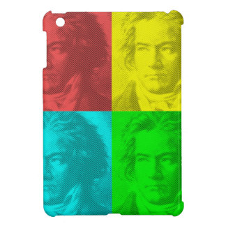 Beethoven Portrait In Squares iPad Mini Case
