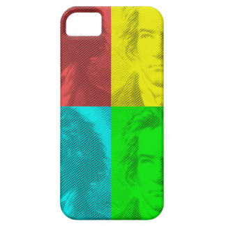 Beethoven Portrait In Squares iPhone 5 Case