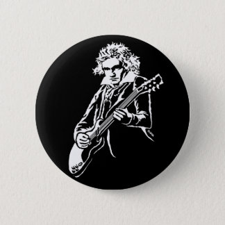Beethoven Rock! 2 Inch Round Button
