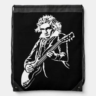 Beethoven Rock! Drawstring Bag