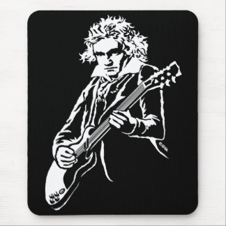 Beethoven Rock! Mouse Pad