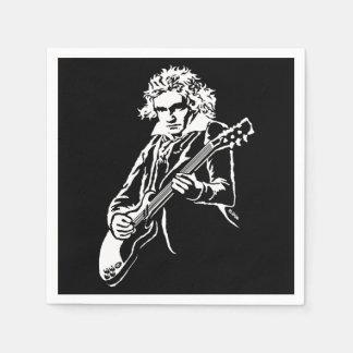 Beethoven Rock! Paper Napkin