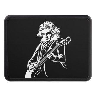 Beethoven Rock! Trailer Hitch Cover