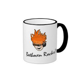 Beethoven Rocks! Mug