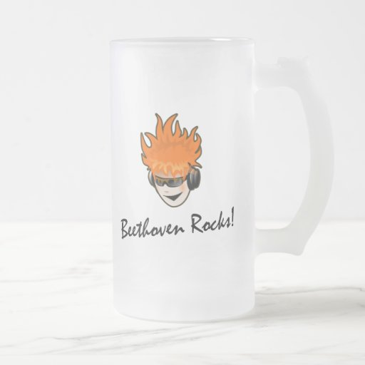 Beethoven Rocks! Coffee Mugs