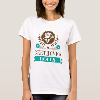 Beethoven Rocks Music Lover T-shirt