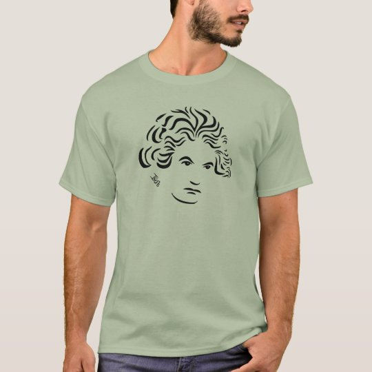 Beethoven T-Shirt -- Stone Green