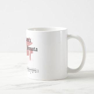 beethovens moonlight sonata  gifts coffee mug