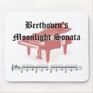 beethovens moonlight sonata gifts mouse pad