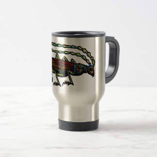 Beetle coffee travel mug