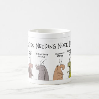 Beetle Nose Jobs Coffee Mug