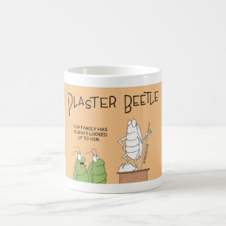 Beetle sculpter coffee mug