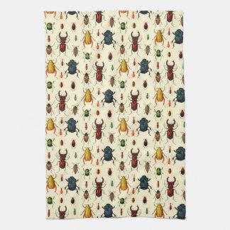 Beetle Varieties Towel