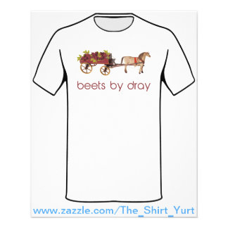 Beets by Horse Drawn Dray Personalized Flyer