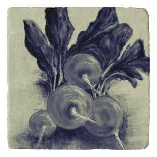 Beets marble trivet