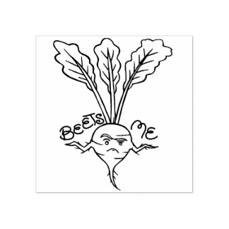 Beets Me Rubber Stamp