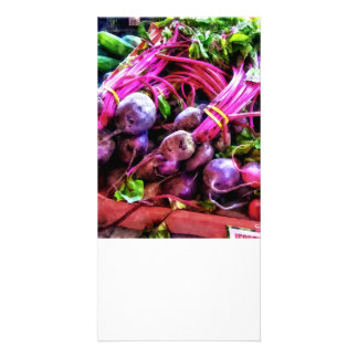 Beets Personalized Photo Card
