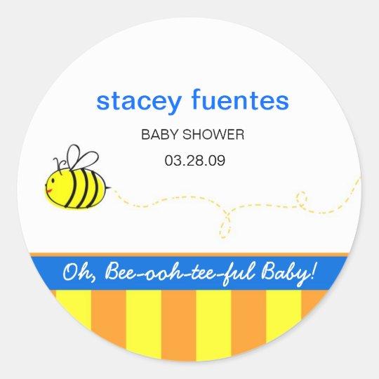 """Beeutiful Baby"" Stickers"