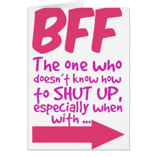 BEF the one who doesn't know how to shut up Card