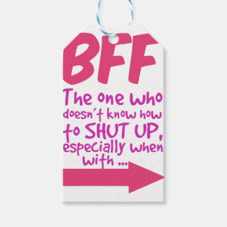 BEF the one who doesn't know how to shut up Gift Tags