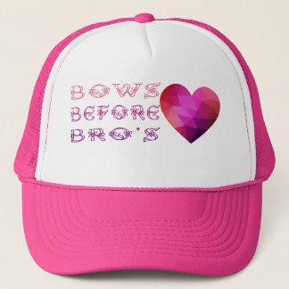 before bros trucker hat