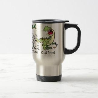 Before Coffee Travel Mug