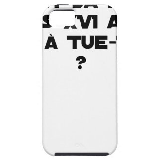 BEFORE DID DIED SA, LOUIS XVI SHOUT WITH TUE-TÊTE? iPhone 5 CASE