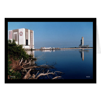 Before the Launch of Space Shuttle STS-83 Greeting Card