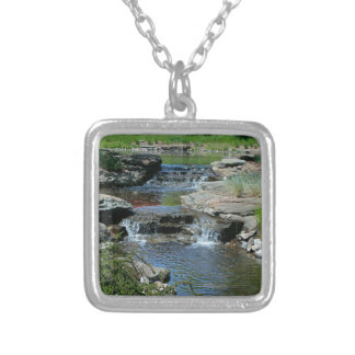 Before the Lilies Bloom Silver Plated Necklace