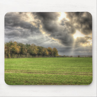 Before the Rain Countryside mousemat Mouse Pad