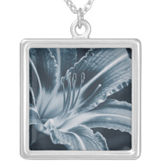 Before the Storm (Blue) Silver Plated Necklace