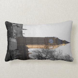 Beg Ben Clock Tower London Pillow